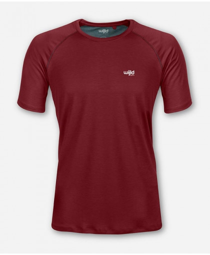 MEN DARK RED SPORTSHIRT