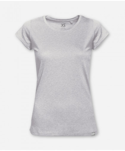 WOMEN GRAY MELANGE WOODSHIRT
