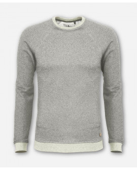 MEN LUMBER SWEATER LIGHT GRAY