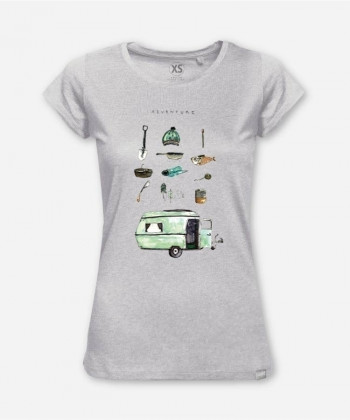 WOMEN ADVENTURE WOODSHIRT von halfbird