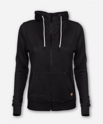 WOMEN TIMBER ZIP-HOODIE ANTHRACITE