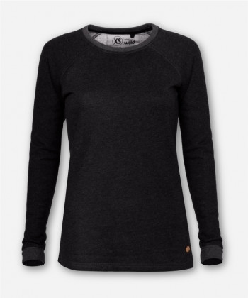 WOMEN LUMBER SWEATER ANTHRACITE