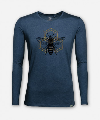 MEN BEE WISE LONGSLEEVE von Julia Schneider
