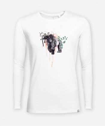 MEN BERGGORILLA LONGSLEEVE von everywhere you go