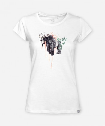 WOMEN BERGGORILLA WOODSHIRT von everywhere you go