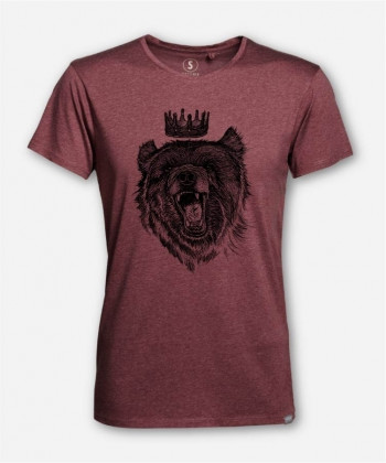 MEN BERLIN KING WOODSHIRT von camarocaro