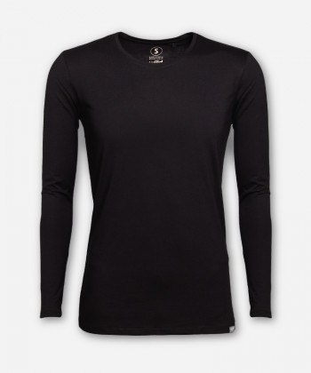 MEN BLACK LONGSLEEVE
