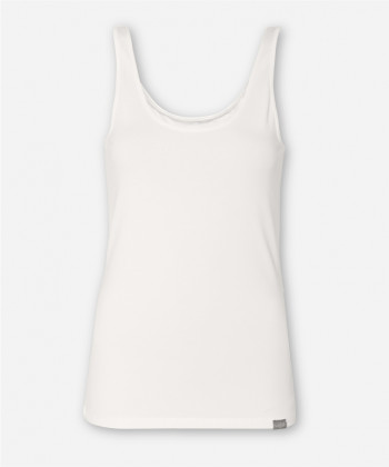 WOMEN BRIGHT WHITE TANK TOP