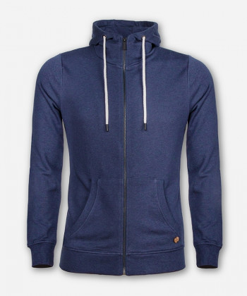 MEN TIMBER ZIP-HOODIE DARK BLUE