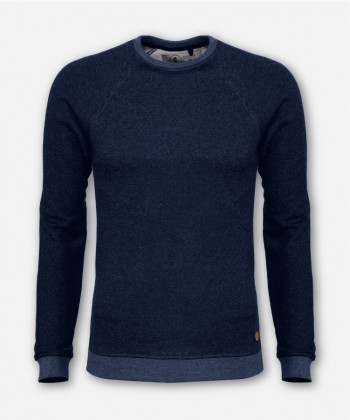 MEN LUMBER SWEATER DARK BLUE