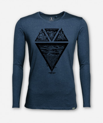MEN ELEMENTS LONGSLEEVE von Julia Schneider