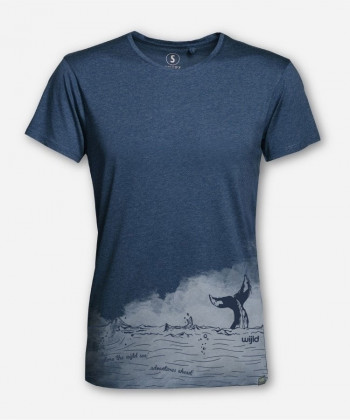 MEN EXPLORE THE WIJLD SEA WOODSHIRT von wijld