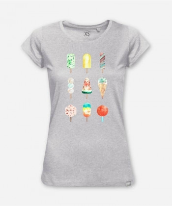 WOMEN HAPPY SUMMER WOODSHIRT von everywhere you go