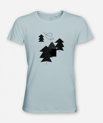 MEN HAUS IM WALD WOODSHIRT von TanTan Things