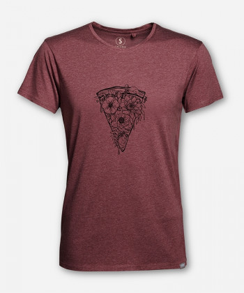 MEN HIPPIEPIZZA WOODSHIRT von wijld