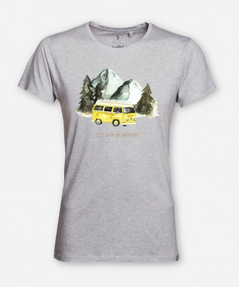 MEN LET'S GO ON AN ADVENTURE WOODSHIRT von everywhere you go