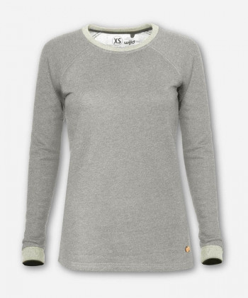 WOMEN LUMBER SWEATER LIGHT GRAY