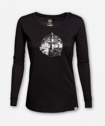 WOMEN LIGHTHOUSE LONGSLEEVE von Julia Schneider