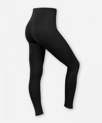 DAMEN JERSEY LEGGINGS BLACK