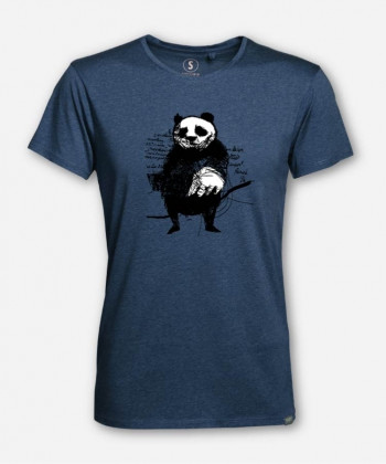 MEN PANDA WOODSHIRT von Hummelgrafik