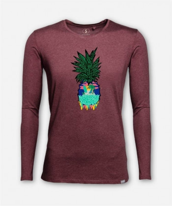 MEN PINEAPPLE LONGSLEEVE von Casiegraphics