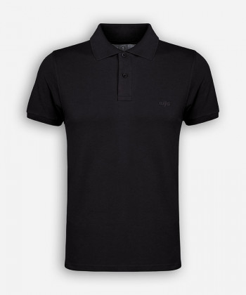 MEN BLACK POLOSHIRT