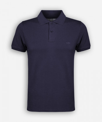 MEN MARITIM BLUE POLOSHIRT