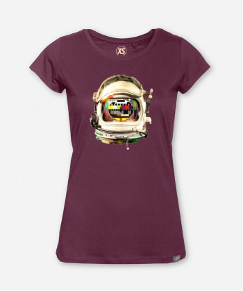 WOMEN SPACE HELMET WOODSHIRT von wijld