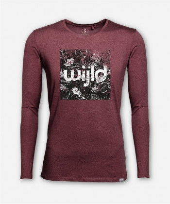 MEN VINTAGE LEAVES LONGSLEEVE von wijld