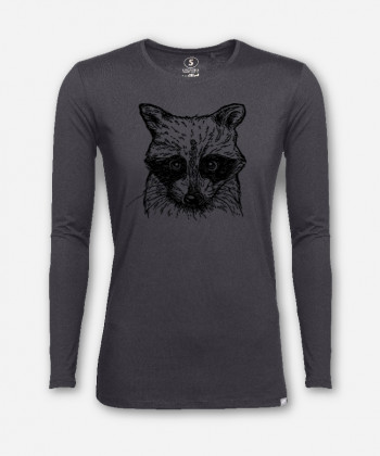 MEN WASCHBÄR LONGSLEEVE von everywhere you go