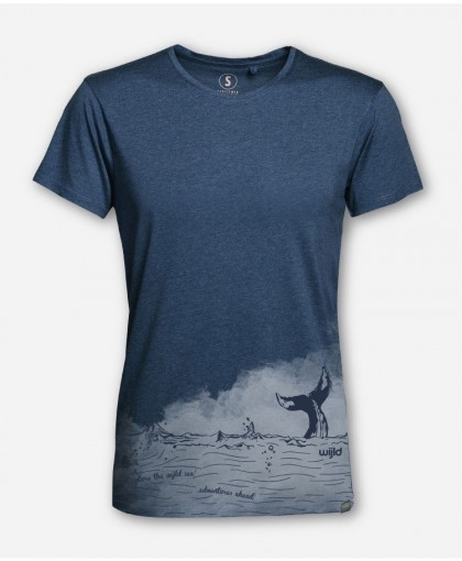 MEN EXPLORE THE WIJLD SEA WOODSHIRT by wijld