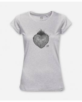 WOMEN WIJLD AT HEART WOODSHIRT by wijld