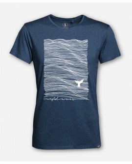 MEN WIJLD WAVES WOODSHIRT by wijld
