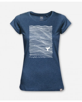 WOMEN WIJLD WAVES WOODSHIRT by wijld