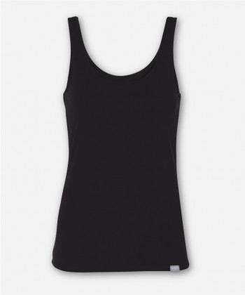 WOMEN BLACK TANK TOP