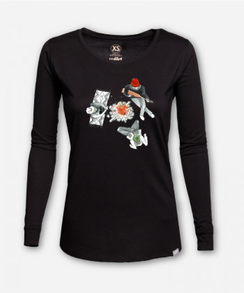 WOMEN BONFIRE FEELS LONGSLEEVE by Laura Feller