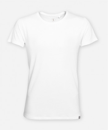 MEN BRIGHT WHITE WOODSHIRT
