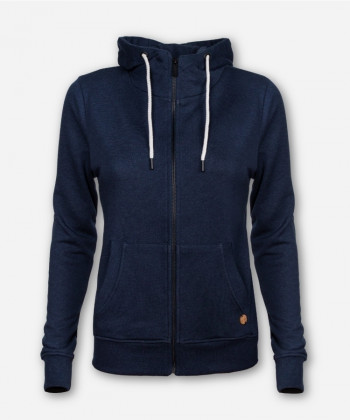 WOMEN TIMBER ZIP-HOODIE DARK BLUE