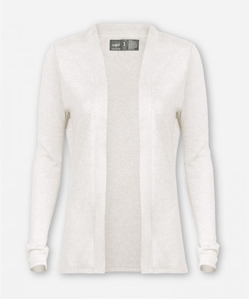 WOMEN KNITTED CARDIGAN IVORY