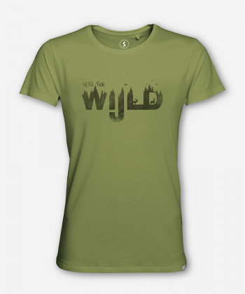 MEN INTO THE WIJLD WOODSHIRT