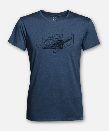 MEN WIJLD WHALE WOODSHIRT