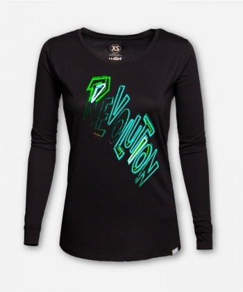 WOMEN NEON REVOLUTION LONGSLEEVE by Timo Beelow