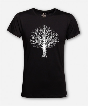 MEN WIJLD TREE WOODSHIRT by wijld