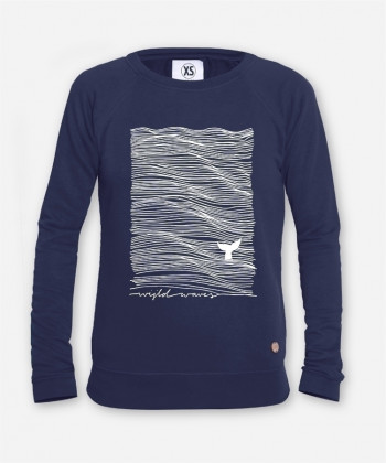 WOMEN WIJLD WAVES SWEATER by wijld