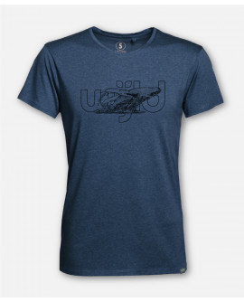 WIJLD WHALE WOODSHIRT HOMMES