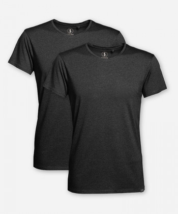 DOUBLE WOODSHIRT ANTHRACITE HOMMES