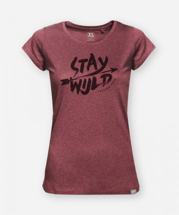 STAY WIJLD WOODSHIRT FEMMES