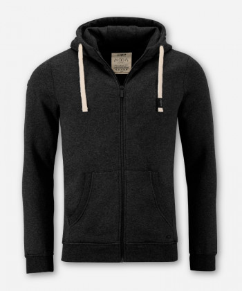 ZIP-HOODIE HYPERION ANTHRACITE HOMMES