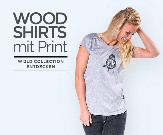 WoodShirts mit Prints für Frauen by wijld