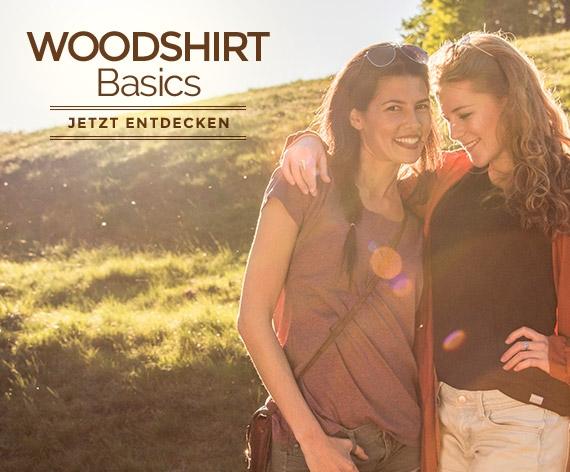 WoodShirt Basics für Frauen by wijld